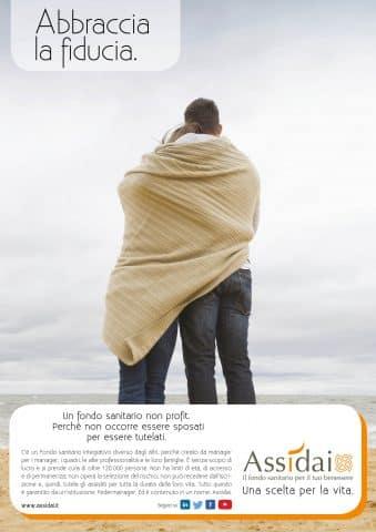 Campagna Assidai - Abbraccia la fiducia